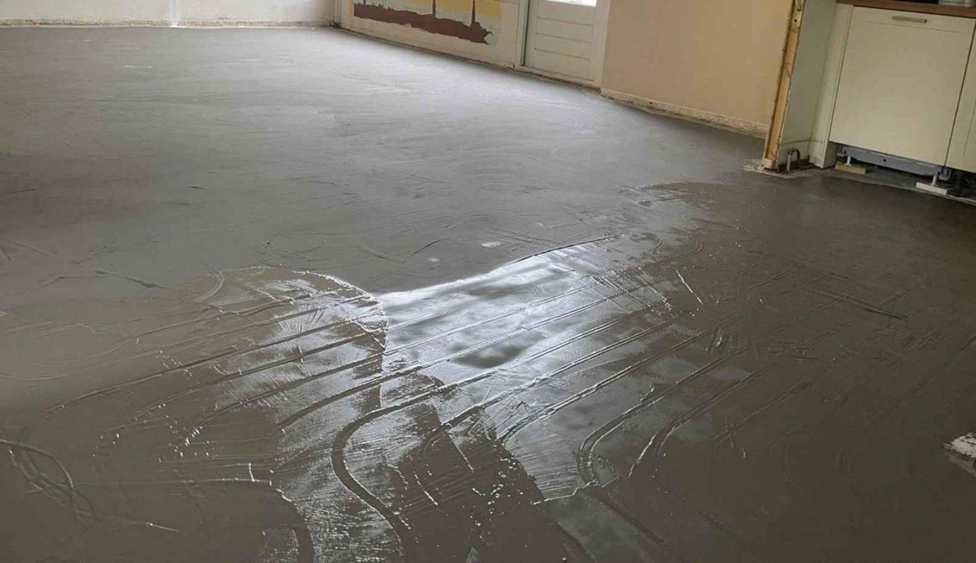 vloer voor vloerverwarming